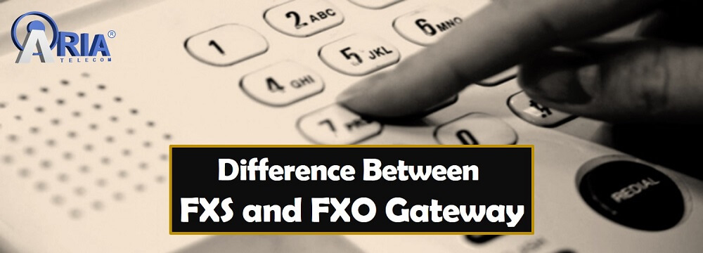 FXS and FXO Gateway