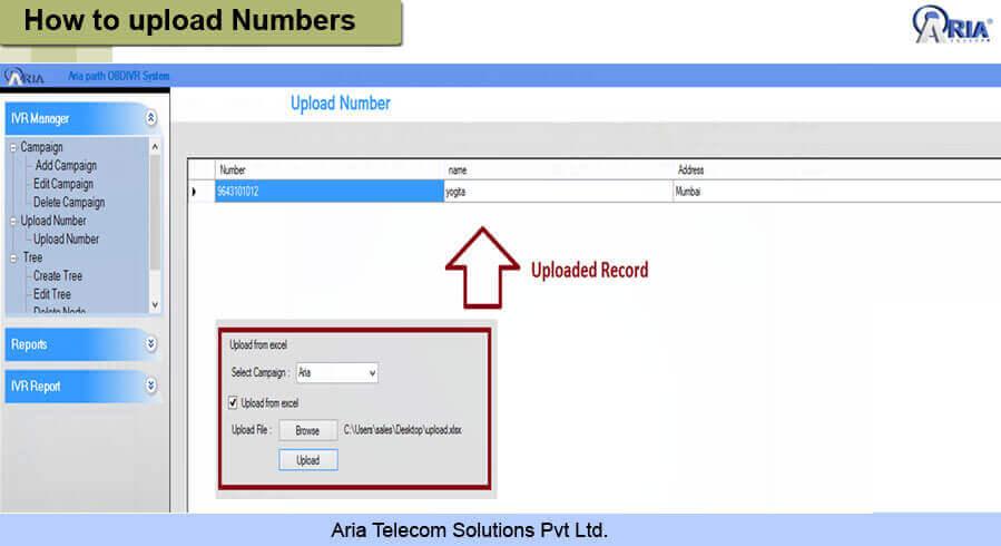 Outbound IVRS Appliances | Aria Telecom